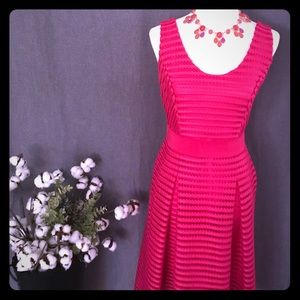 NY@CO FIT AND FLARE DRESS